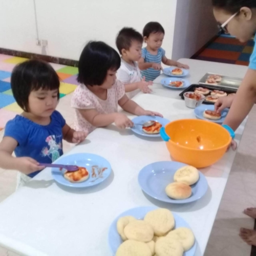 Cooking Class Pizza at Trust DayCare November 2018 (17)