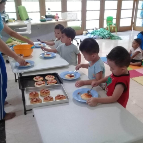 Cooking Class Pizza at Trust DayCare November 2018 (22)