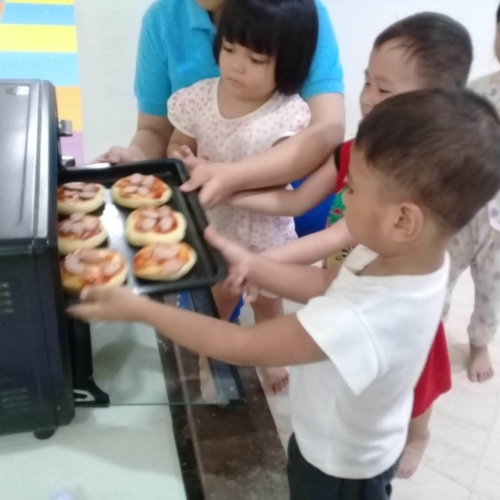 Cooking Class Pizza at Trust DayCare November 2018 (5)