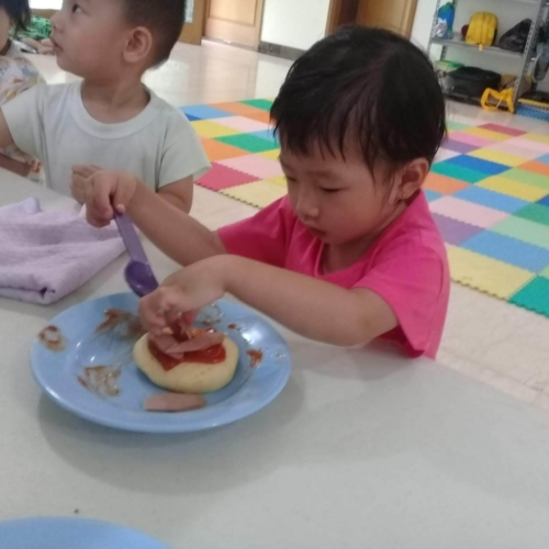 Cooking Class Pizza at Trust DayCare November 2018 (51)
