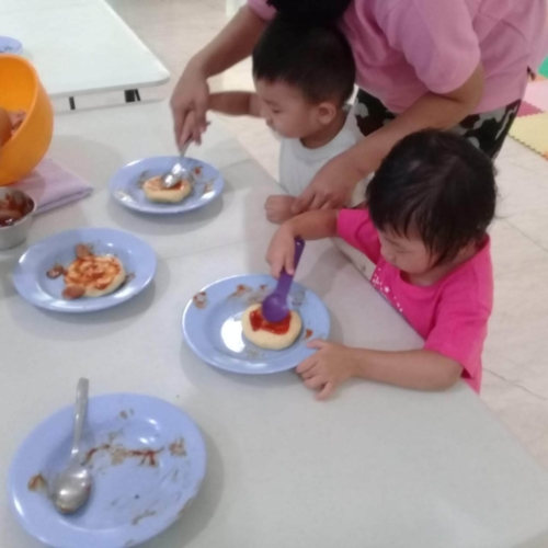Cooking Class Pizza at Trust DayCare November 2018 (52)