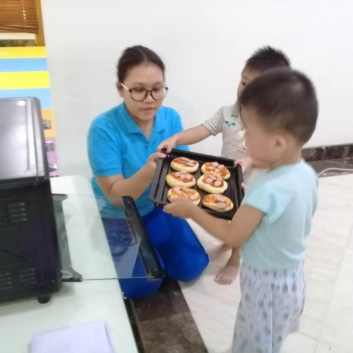 Cooking Class Pizza at Trust DayCare November 2018 (9)